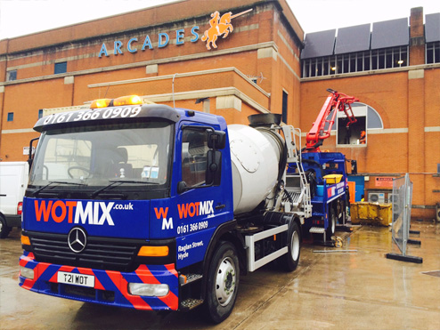 Ready Mixed Concrete Manchester Wotmix Ready Mix