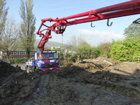Concrete Pump Hire Manchester