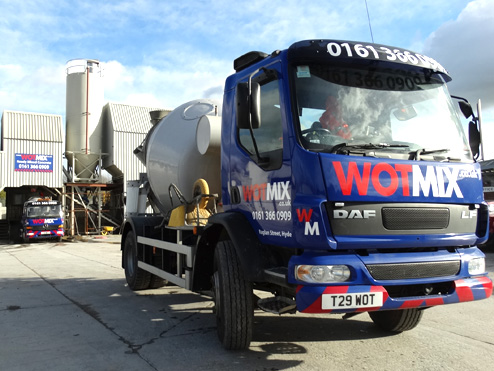 4m3 Mini Mix Concrete Manchester