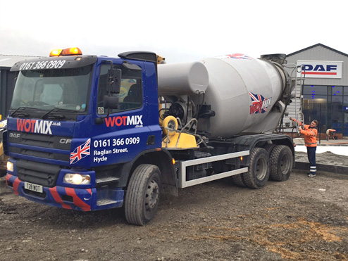 6m3 Ready Mix Concrete Manchester