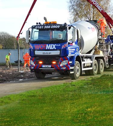 WOTMIX – Ready Mixed Concrete Suppliers Manchester