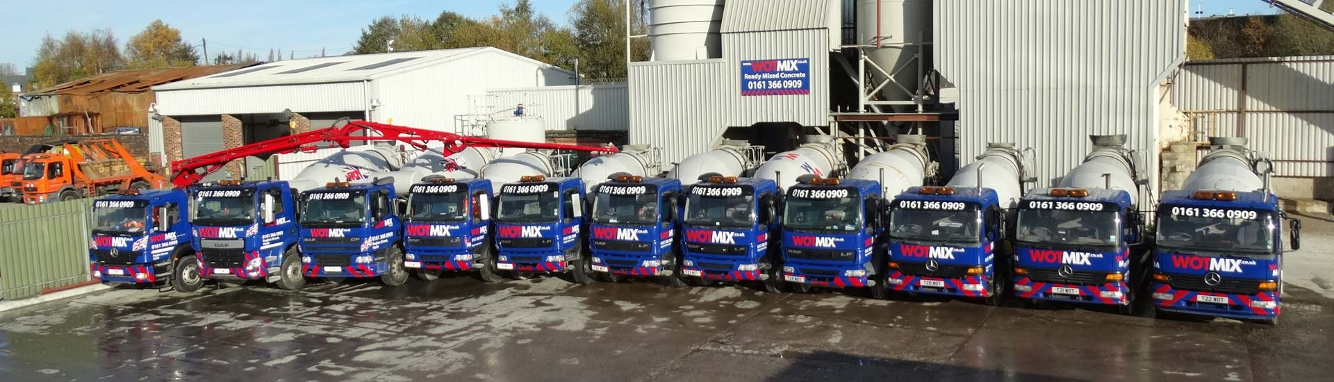 Ready Mixed Concrete Manchester
