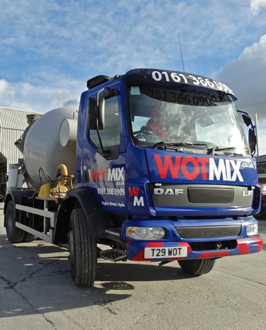 Ready Mix Mixed Concrete Tameside