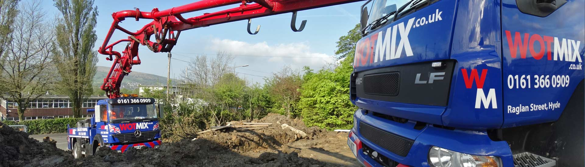 Concrete Pump Hire Manchester