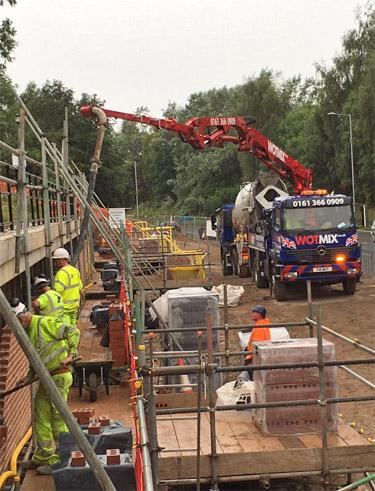 WOTMIX – Concrete Pump Hire Manchester