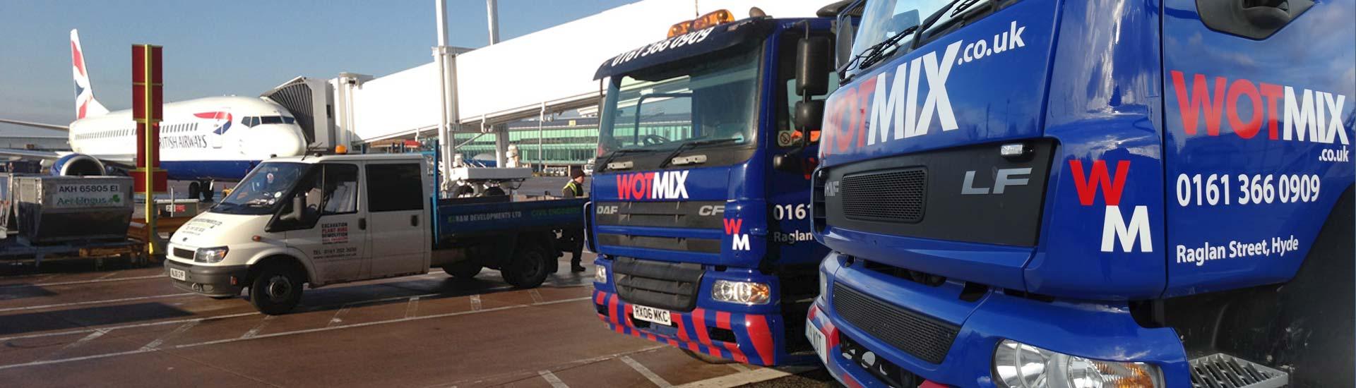 Wotmix Manchester Airport