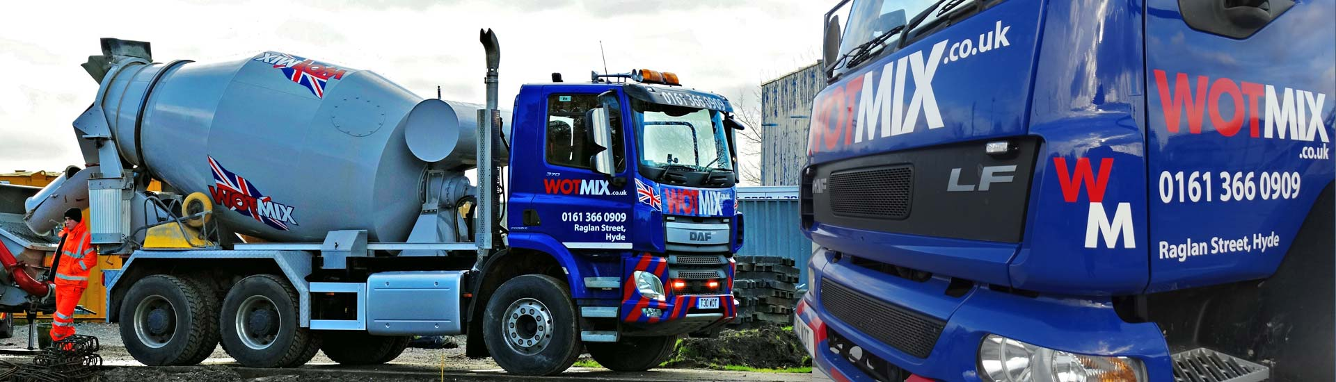 We Deliver Ready Mix Concrete to Manchester