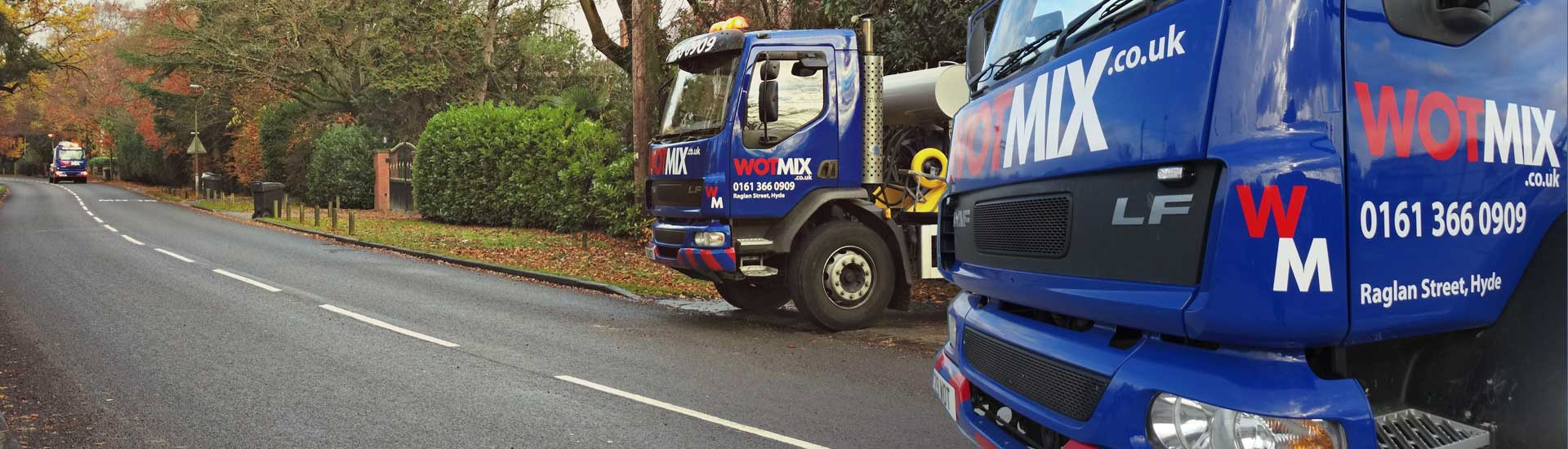 We Deliver Ready Mix Concrete to Macclesfield