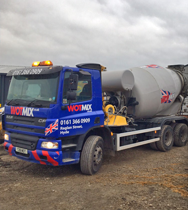 WOTMIX – 6m3 Ready-Mix Concrete Trucks Manchester