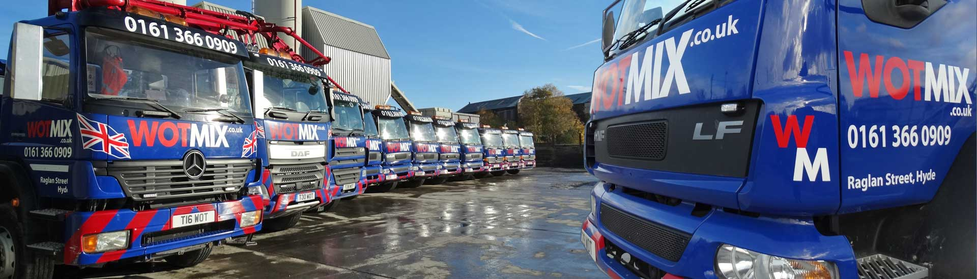 Contact Ready Mixed Concrete Suppliers Manchester