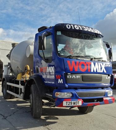 WOTMIX – 4m3 Mini Mix Concrete Manchester