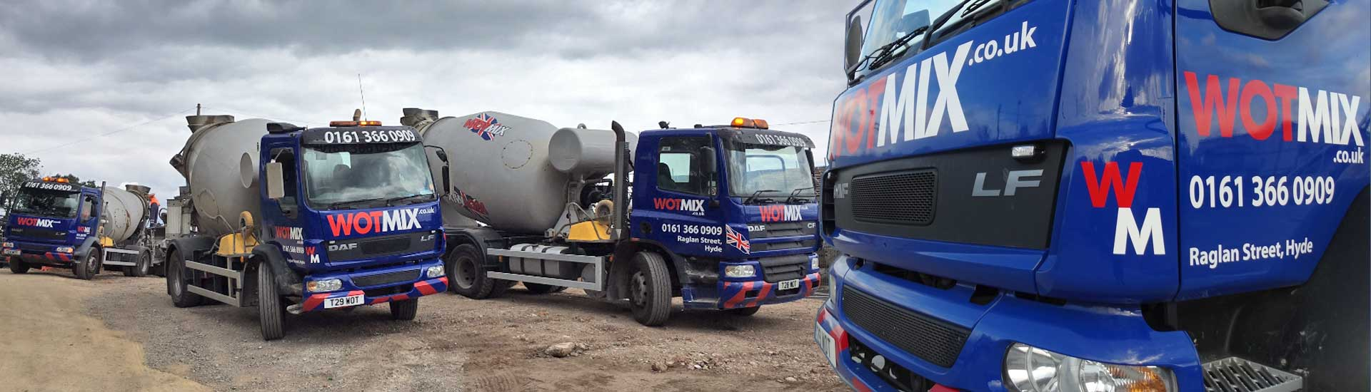 We Deliver Ready Mix Concrete to High Peak
