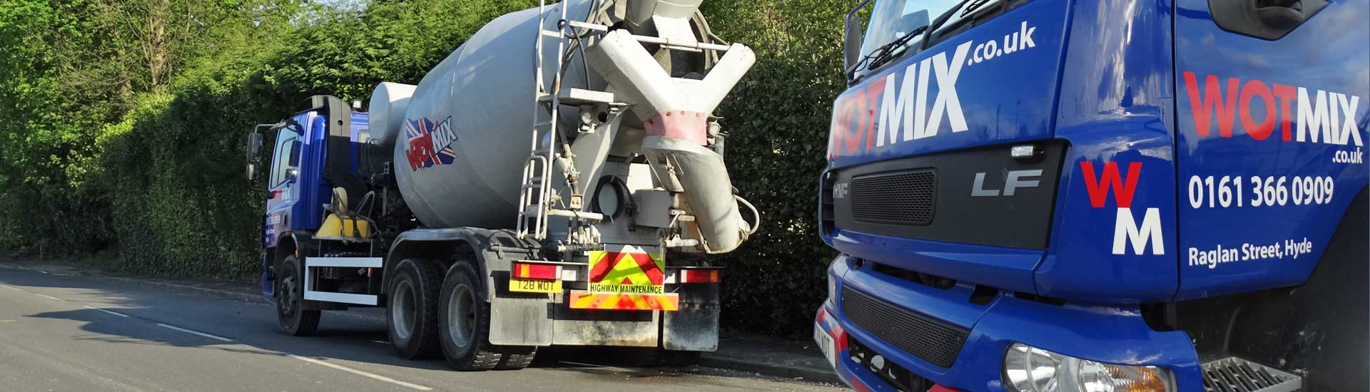 We Deliver Ready Mix Concrete to Knutsford