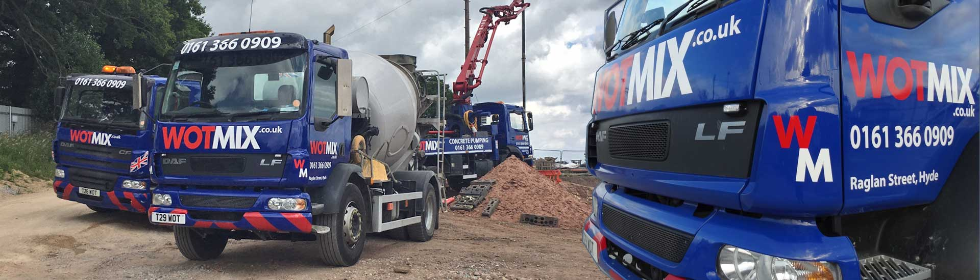 We Deliver Ready Mix Concrete to Tameside