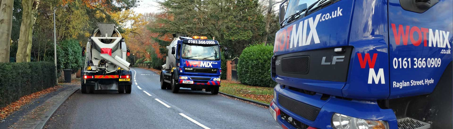 We Deliver Ready Mix Concrete to Wilmslow